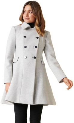 Forever New Louise Fit & Flare Coat