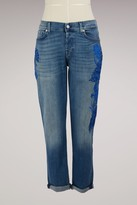 7 For All Mankind Embroidered Josefina Jeans
