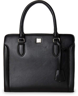 Nine West Black Coralia Satchel