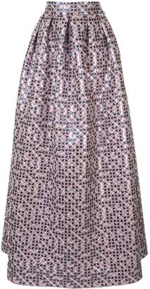 Ingie Paris long A-line skirt