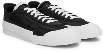 Nike Drop Type Lx Nylon And Suede Sneakers