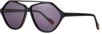 Le Specs Luxe Riad Reveller Aviator Sunglasses