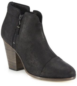 Rag & Bone Margot Waxed Suede Ankle Boots