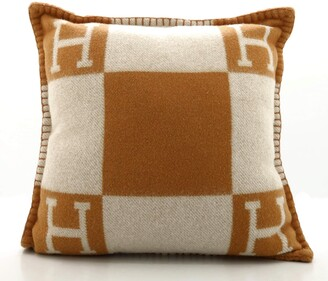 Hermes Avalon Pillow Wool and Cashmere Small