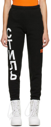 Heron Preston Black Style Lounge Pants