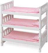 Badger Basket 1-2-3 Convertible Doll Bunk Bed for 18'' Doll