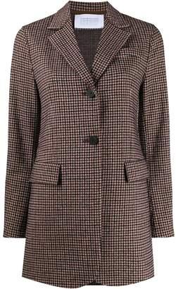 Harris Wharf London single breasted tweed jacket