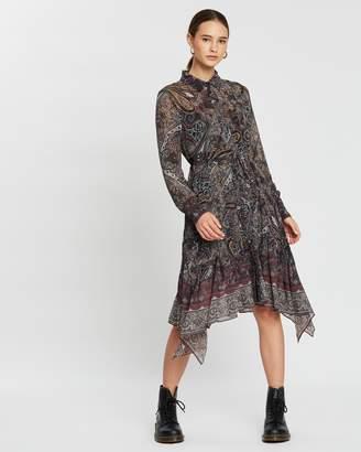 AllSaints Lizzy Scarf Dress