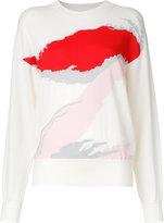 MS MIN abstract pattern jumper - women - Wool - S