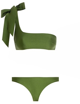 Zimmermann Empire Tie Shoulder Bikini