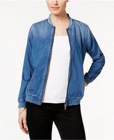 Mavi Jeans Lily Denim Bomber Jacket