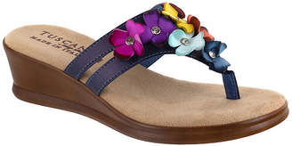 Easy Street Shoes Womens Allegro Wedge Sandals