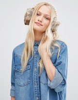 Hat Attack Knit And Faux Fur Earmuff