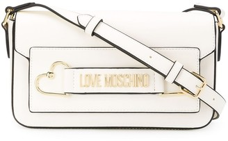 Love Moschino Logo Cross-Body Satchel