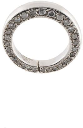 Rosa Maria Chaza diamond pave ring