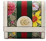 Gucci Women's Ophidia GG Floral Canvas & Leather Snap Wallet