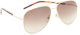 Marc Jacobs Easy To Wear Aviator Sunglasses