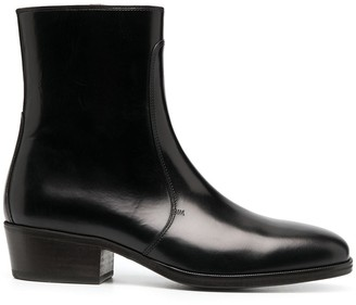 Lemaire Zipped Ankle Boots