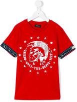 Diesel Tait T-shirt - kids - Cotton - 6 yrs