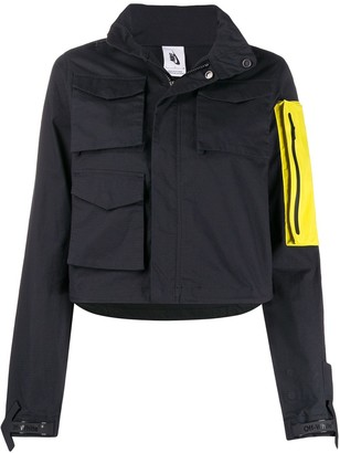 Off-White x Nike detachable pocket hooded jacket