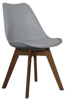 Grey & Walnut Kent Dining Chair