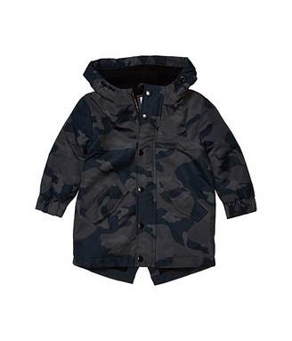 Cotton On Park Life Parka (Little Kids) (Black Camo) Boy's Clothing