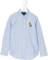 Ralph Lauren branded long-sleeved shirt