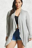 Forever 21 FOREVER 21+ Plus Size Draped Cardigan