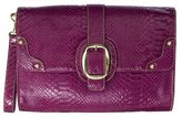 Mossimo® Embossed Clutch - Purple