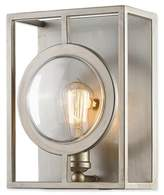 Filament Design Carrie 1-Light Wall Sconce in Antique Silver