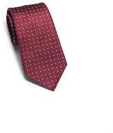 Michael Kors Dotted Woven-Silk Tie