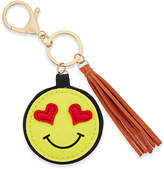 Macy's Inspired Life Heart Eyes Emoji and Tassel Keychain