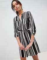 Oasis Stripe Shirt Dress