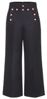Marc Jacobs Embellished Wool Trousers