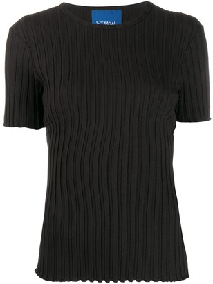 Simon Miller Osuna ribbed slim-fit T-shirt