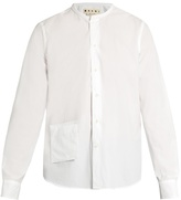 Marni Pocket-front Cotton-poplin Shirt