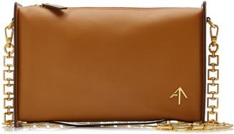 MANU Atelier Carmen Paneled Leather Shoulder Bag