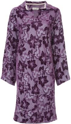 Comme Des Garçons Pre-Owned Jacquard Patterned Dress