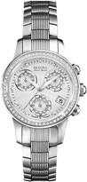 Bulova Women's Analog Quartz Diamond Bracelet Watch