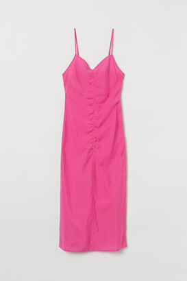 H&M Lyocell-blend Dress - Pink