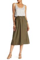 Brochu Walker Bondi Linen Blend Belted Dress