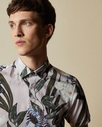 Ted Baker Cotton Floral Shirt