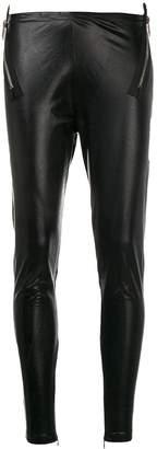 DSQUARED2 side zip leggings