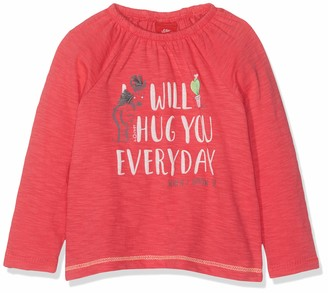 S'Oliver Baby Girls' 65.904.31.8495 Long Sleeve Top