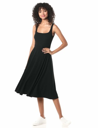 ASTR the Label Women's Sleeveless FIT & Flare MIDI Dress