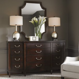 Lexington Kensington Place 12 Drawer Dresser with Mirror