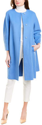 Max Mara 'S Wool & Angora-Blend Coat