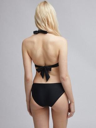 Dorothy Perkins Built Up Bikini Top - Black