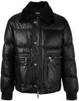 DSQUARED2 quilted feather down jacket