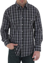 Wrangler Long-Sleeve Wrinkle-Resistant Shirt